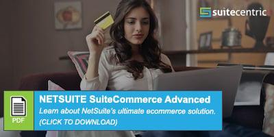 NetSuite SuiteCommerce Advanced PDF CTA button