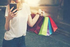 shopping increase